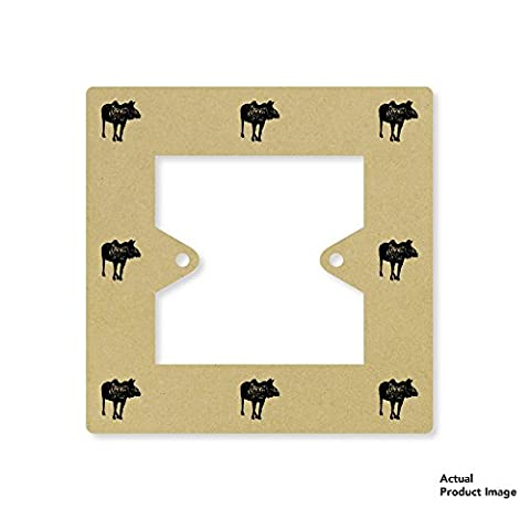 'American Moose' Square Light Switch Plate / Surround (LS00024099)