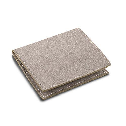 Lucrin - Etui für Kreditkarten und Geldscheine - Ziegenleder Hellbraun