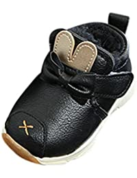WINWINTOM bambini Stivali, bambini Caldi Ragazzi Ragazze Martin Scarpe da Sneaker bambini bambini Scarpe Casual (21,