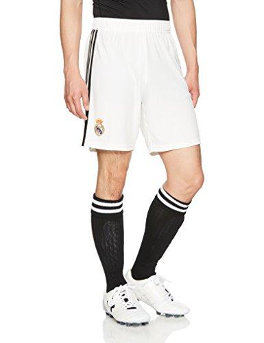 adidas Herren Short 1/4 Real Home, Core White/Black, M, DH3371