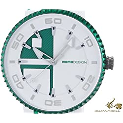 Reloj de cuarzo Momo Design Jet Aluminium, Cronógrafo, 43mm. Correa de silicona