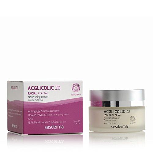 Sesderma Acglicolic 20 Crema Nutritiva Antienvejecimiento