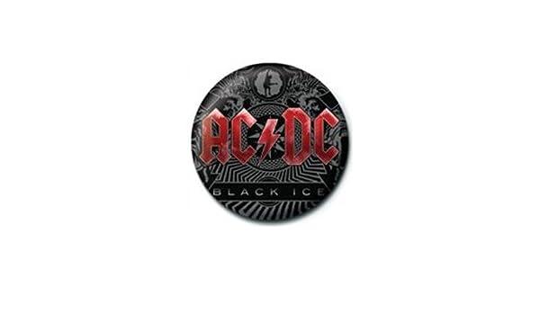 Offiziell lizenziert AC//DC Black Ice Button