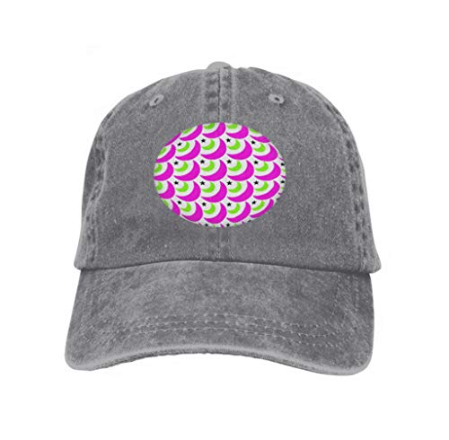 Xunulyn Snapback Hat Sandwich Peaked Cap Durable Baseball Cap Hats Adjustable Peaked Trucker Cap Bubble Gum Moons Abstract layegray Moon Stars Colorful backgr Gray -