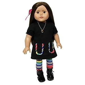 The New York doll Collection- Chica de Ciudad Ajuste para 18 Pulgadas Muñeca-Beth, (B132)