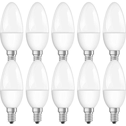Neolux LED-Lampe | Sockel E14 |Warm White (2700 K) | ersetzt Glühlampen mit 40 W | 5,70 W | Matt |