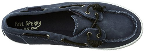 Sperry Top-Sider Sayel Away Washe, Baskets Basses Femme Bleu Marine