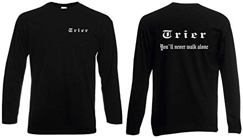 world-of-shirt Herren Longsleeve Shirt Trier Ultras S-XXL