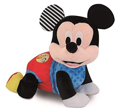 Clementoni Peluche Interactivo Mickey Gateos con Sonidos