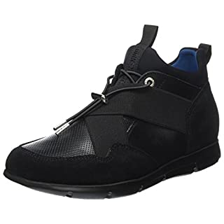 BIRKENSTOCK Shoes Ames Damen Derbys, Schwarz (Black), 38 EU