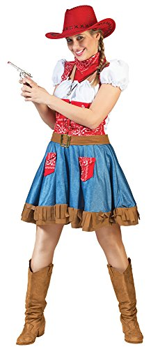 Das Kostümland Cowgirl Arizona Kostüm für Damen Gr. 36 38