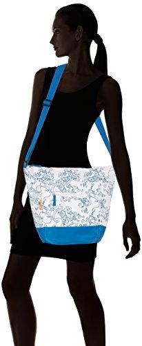 Starling Fahrradkorbtasche Shopper blau wei