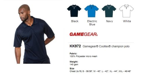 Gamegear Gamegear Cooltex Meister Polo White