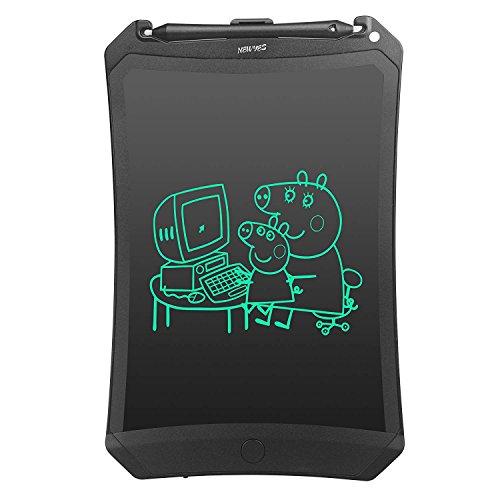 NEWYES LCD Writing Tablet Kinder Tablet Digital Zeichentafel - Bildschirm Sperren 8,5 Zoll - Schwarz -