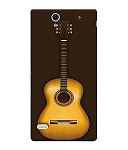 PrintVisa Designer Back Case Cover for Sony Xperia C4 Dual :: Sony Xperia C4 Dual E5333 E5343 E5363 (Musical Instrument Gitar Fun Entertainment Party)