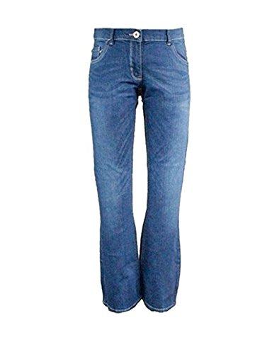 Alive Alive Mädchen Trendjeans Jeans Hose Blau Flared 122/128