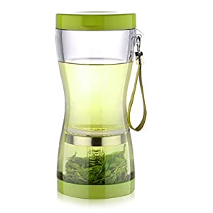 CHEF SAUCE Rooibos - Bouteille pour té vert transparent 450 ml