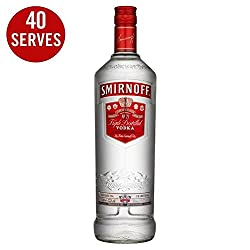 Smirnoff Red Label Vodka 1l - (Pack Of 2)