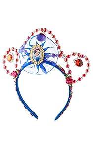 Princesas Disney - Tiara de Blancanieves, color rojo, Talla única (Rubie