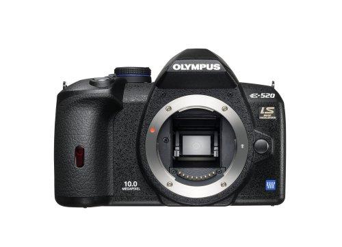 Olympus E-520 SLR-Digitalkamera (10 Megapixel, LifeView, Bildstabilisator) Kit inkl. 14-42mm & 40-150mm Objektive - 4