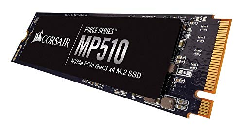 Corsair Force MP510 480 GB NVMe PCIe Gen3 x4 M.2-SSD (bis zu 3480 MB/s)