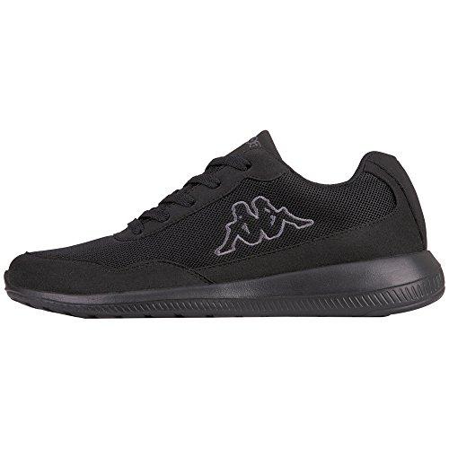 Kappa Follow Oc, Sneakers Basses Mixte Adulte, Noir (Black/Grey 1116), 40 EU