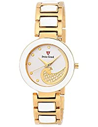 Swiss Grand SG 1142 Off-White Dial Analog Watch - For Girls