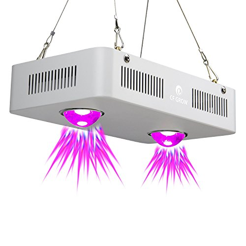Pflanzenlampe Vollspektrum LED Grow Light 300W Cob LED Grow Light Pflanzenlicht Indoor Outdoor Pflanzenwachstum Beleuchtung [EnergieklasseA+++] …
