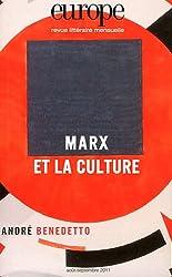 Europe, N° 988-989, Août-Sep : Marx et la culture
