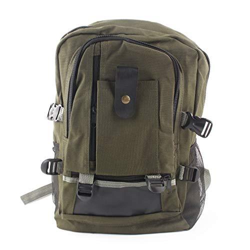 eaaa43792e73 FDBF Unisex Backpack Vintage Canvas Rucksack Preppy School Shoulder Travel  Satchel