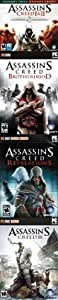 Assassin's Creed Collection: 1, 2 (With Brotherhood & Revelations) & 3