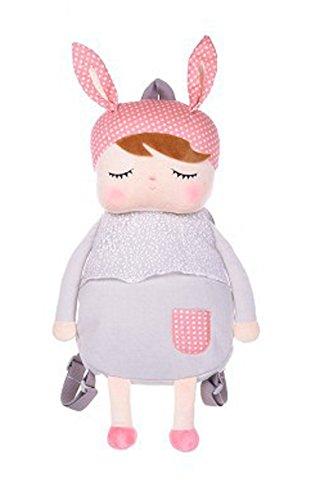 Good Night Angela Cuddly Dolls Plüsch Outdoor Daypack für Kinder Jungen Mädchen, schöne Puppen Kleinkinder Rucksack Plüsch Für Kleinkinder