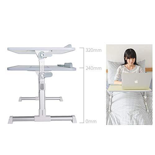 Afayu Afanyu Klapptisch, Bett Computer Schreibtisch Schreibtisch Kleiner Tisch Falten Kühlen Heben Multifunktionshalterung (Ausgabe: A8L),A6 -