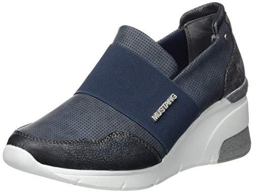 MUSTANG Damen 1303-401-820 Slip On Sneaker, Blau (Navy 820), 39 EU