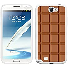 FUNDA CARCASA PARA TPU GEL PARA SAMSUNG GALAXY NOTE 2 TABLETA DE CHOCOLATE