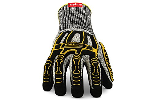 Weber Rescue TH-Handschuhe Extrication 2090W (4544XP nach EN 388) für Feuerwehr und Rettungsdienst (10/XL)
