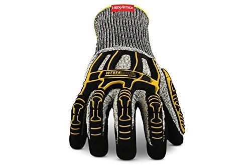 feuerwehrhandschuhe seiz Weber Rescue TH-Handschuhe Extrication 2090W (4543 Nach EN 388) für Feuerwehr und Rettungsdienst (11/XXL)