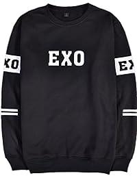 SERAPHY Unisexe EXO Hoodies Pull K-Pop Sweat-Shirt à col Rond Sehun Kris Suho Baekhyun Lay Chanyeol Luhan Xiumin D.O Kai Tao Chen