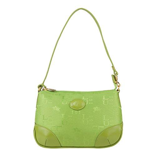 Luigi 81556, Borsa a spalla donna Verde (verde)