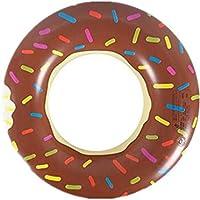 Summens Anneau de natation gonflable Bouée PVC épaissir sécurité Swimming Ring Jouet de Plage / Piscine Cercles grande flottabilité Pour enfants Adultes nager de natation avec poignée