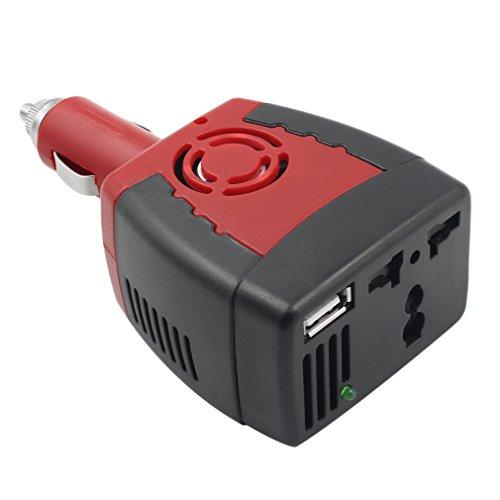 Maistore allume-cigare d'alimentation 150W 12V DC à 220V AC Power Inverter adaptateur de voiture avec chargeur USB Port