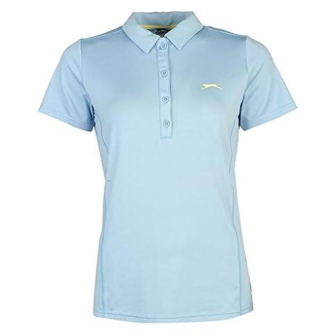 Polo Slazenger - Slazenger Femmes Plain Golf Polo Shirt T-Shirt
