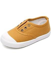 Tenthree Niños Calzado Deportivo - Unisex para Niño Lienzo Punt Calzado Correr Casual Zapatos Individuales Lindo