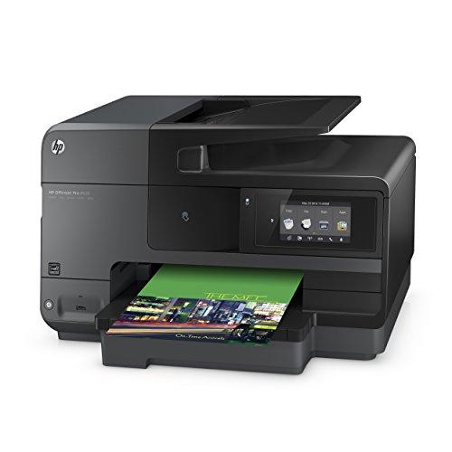 Bild 3: HP Officejet Pro 8620 (A7F65A) All-in-One Multifunktionsdrucker (A4, Drucker, Kopierer, Scanner, Fax, NFC, WiFi, Duplex, USB, 4800 x 1200 dpi) schwarz