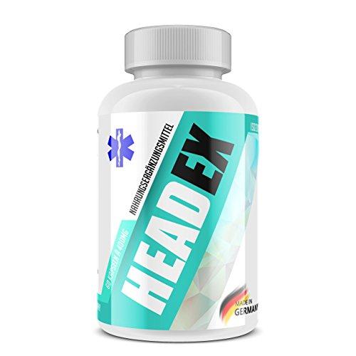 Anti-alkohol Antioxidantien (HEADEX Anti Kater Mittel - Geheime Formel Mit Bernstein- und Fumarsäure. Geschmacksneutral & 100% Made In Germany. Mit Pharmazentralnummer 1 x 60 Kapseln)