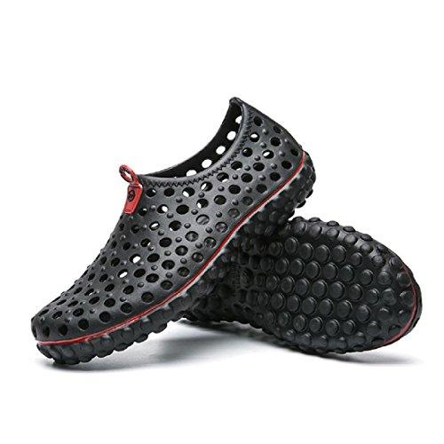 Uomo Scarpe da ginnastica traspirante sandali Scarpe casual Estate Taglia larga Scarpe da spiaggia Black