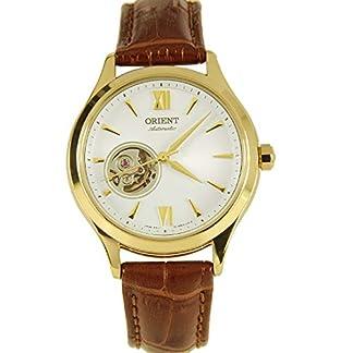 Orient FDB0A003W0 – Reloj automático para Mujer, Chapado en Oro sobre Piel