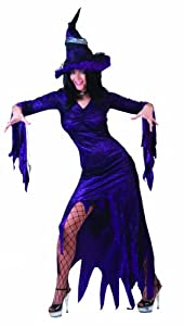 Funny Fashion 504188 - Disfraz de bruja para mujer (talla 44/46)