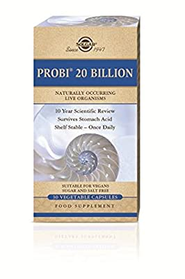 Solgar Probi 20 Billion Vegetable Capsules, 30 by Solgar