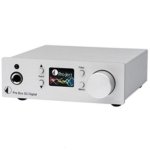 Pro-Ject Pre Box S2Digital Digitaler Vorverstärker, silber